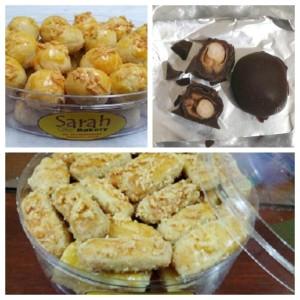 Paket Amanah 3 Kue Wisman Sarah Bakery