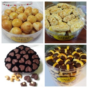 Paket PREMIUM 4 Kue WISMAN Terlezat Sarah Bakery, Lezat Bangeeet