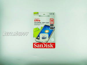 SanDisk Ultra Micro SDHC 16Gb Class 10 up to 48MB/s