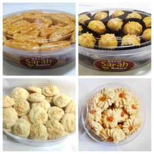 Paket 4 Kue Wisman Sarah Bakery KECIL, Harga Kecil, Rasa Tetap Lezat