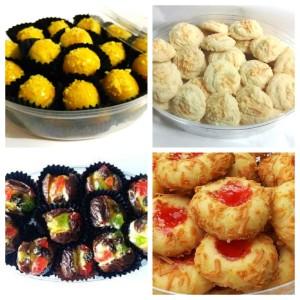 Paket LARIS 4 Kue Kering Sarah Bakery KECIL Lezat Banget
