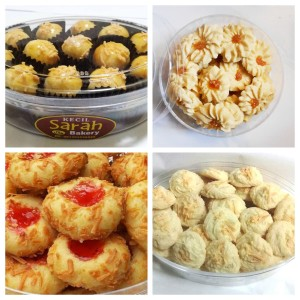 Paket Berkah Kue Lebaran (4 Kue WIJSMAN) Sarah Bakery Lezat Banget