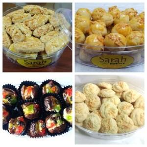 Paket Spesial Lebaran 4 Kue Sarah Bakery Lezat Banget