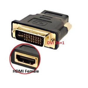 Kabel Converter DVI 24+1 To HDMI