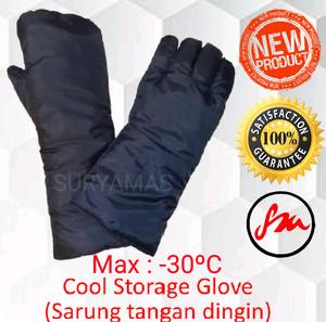 "sarung tangan dingin/cool glove/Cool storage glove ""ORCA"" 14"""