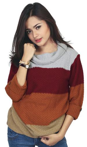 Sweaters Casual Wanita   RZM 090