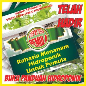 Jual BUKU RAHASIA MENANAM HIDROPONIK PEMULA BONUS 5 MACAM BENIH DAN VIDEO -  Kota Bandung - Helook Hydro Shop | Tokopedia