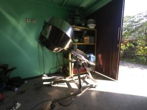 mesin aduk bumbu diagonal tabung 60cm