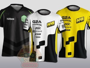 JERSEY / KAOS TEAM GAMING CUSTOM/ DESIGN SENDIRI