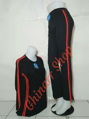 setelan baju senam aerobic yovis muslimah stelan baju olahraga wanita