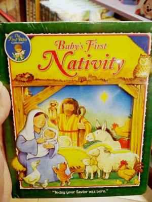 baby's first nativity book