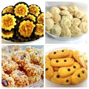 Paket SALAM 4 Kue Kering Sarah Bakery KECIL Lezat Banget
