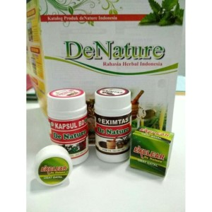 PAKET OBAT GATAL EXIM PLUS SALEP - HERBAL DE NATURE