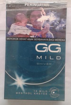 Rokok GG Mild Shiver Menthol