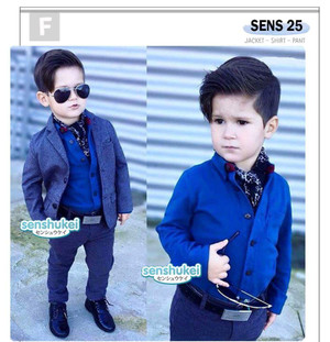 STELAN ANAK SENSHUKEI25 3IN1 JAS BLUE SOFT Size 2-7th / FASHION ANAK