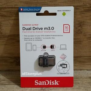Flash Disk SanDisk Ultra Dual Drive M3.0 16GB USB 3.0 OTG Original