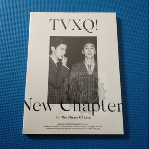 DBSK / Dong Bang Shin Ki / TVXQ New Chapter #1 The Chance of Love