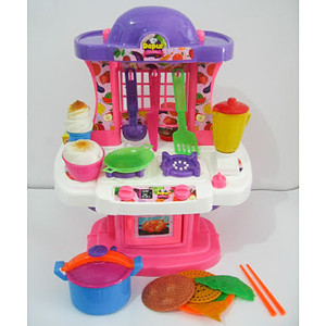 Mainan Masakan Little Kitchen Dapur Mewah