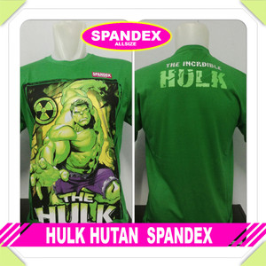 Kaos distro cotton spandex HLK HUTAN