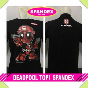 Kaos distro cotton spandex DPL TOPI