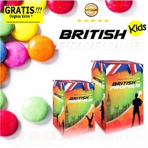 ORIGINAL British Propolis Kids  / Madu Plus Vitamin kesehatan