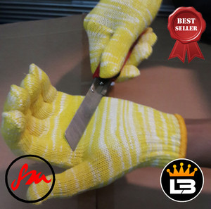 Sarung tangan kevlar/sarung tangan anti potong/cutt resist glove