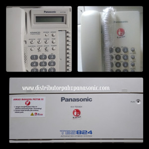 Pabx Panasonic KX-TES 824+ 7 unit Telephone Panasonic KX TS505