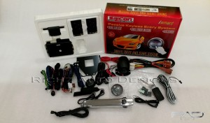 Passive Keyless Entry System Mobilio include tombol bulat