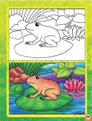 Cara Menggambar Hewan Dan Tumbuhan Dengan Mudah