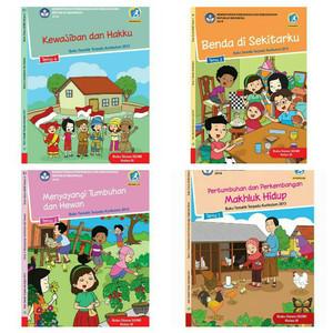 Buku SD Tematik Kelas 3 Tema 1 2 3 4 - Revisi 2018