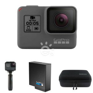 GoPro HERO5 Free Shorty, Battery and Casey Carrying Case
