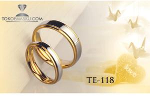 CINCIN KAWIN TUNANGAN COUPLE PERAK TE-118