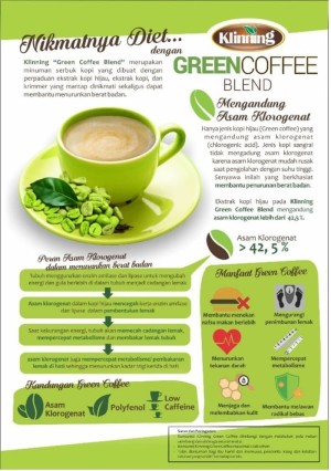 [ KLINNING ] GREEN COFFEE KLINNING BPOM - DIET DETOX