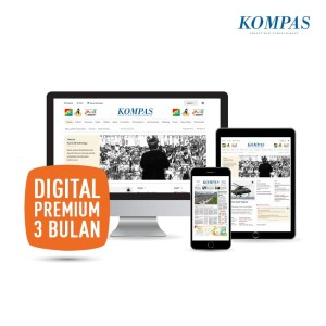 Kompas Digital Premium 3 Bulan