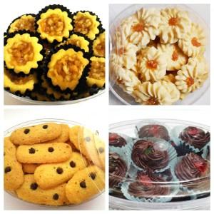 Paket SAKINAH 4 Kue Kering Sarah Bakery KECIL Lezat Banget