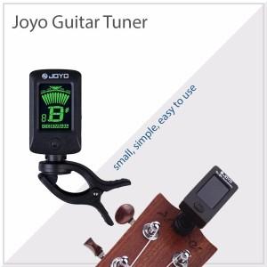 JOYO Tuner Gitar Rotatable 360 Degree JT-01- JT01 - Black