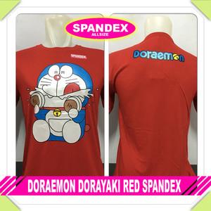 Kaos distro cotton spandex DRM DORAYAKI
