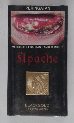 Rokok Apache BlackGold 12