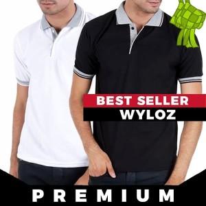 Kaos Polo Shirt Polos Kerah Premium Golf Grosir Rasa Lacoste Gildan