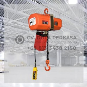 Electric Chain Hoist Type HHXG-A-020-1S Superior 2 Ton Standard Duty
