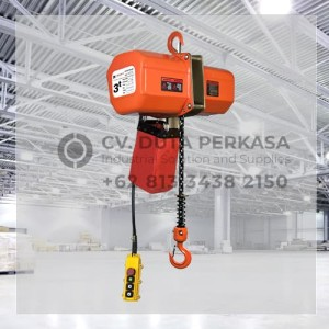 Electric Chain Hoist Type HHXG-A-030-1S Superior 3 Ton Standard Duty