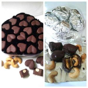 Paket Cokute (Pralin Love dan Cookies Kurma Mete) Lezat Banget