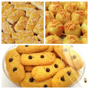 Paket Laku (3 Kue Kering) Sarah Bakery Lezat Banget