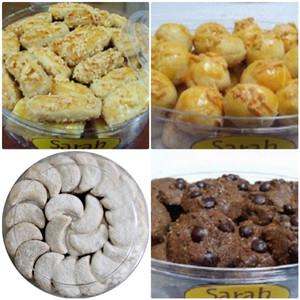 Paket Maharaya 4 Kue Kering Wisman Sarah Bakery Lezat Banget