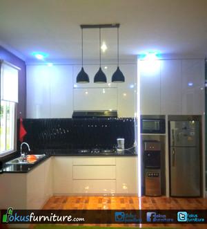 Kitchen set Minimalis custom jakarta