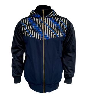 Jaket Batik Blue Lisbon JM-2823