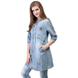 Jual Terbaru Dress Rok Jaket Jeans Wanita Denim Biru Levis Jaket