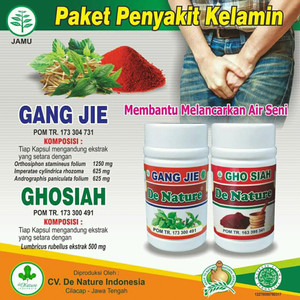 Obat Sipilis Gang Jie & Gho Siah Herbal - Original 100%