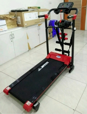 Treadmill Elektrik TOTAL 4 Fungsi TL605