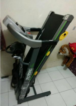 Treadmill Elektrik TOTAL 3 Fungsi TL288